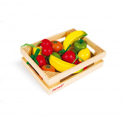 Caja de 12 frutas Janod