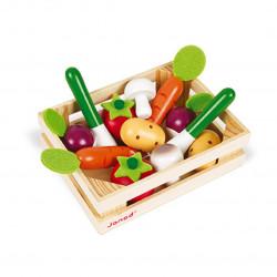 Caja de 12 verduras Janod