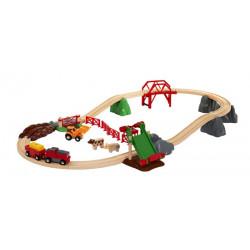 Set ferroviario de granja...
