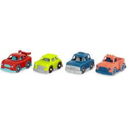 Set de 4 vehículos Wonder...