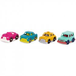 Set de 4 coches Wonder Wheels