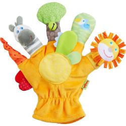 Marioneta  guante de mano...