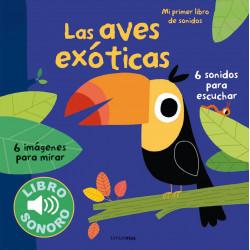 Libro con sonidos Las aves...