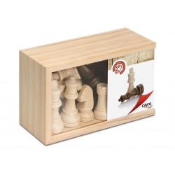 Fichas de ajedrez de madera...