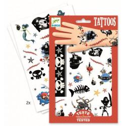 Tatuajes Los Piratas DJECO